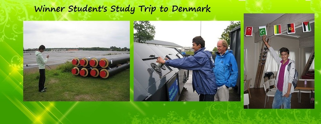 Danish Study Trip of the Winner Student