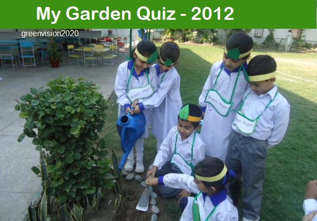 My Garden Quiz 2012