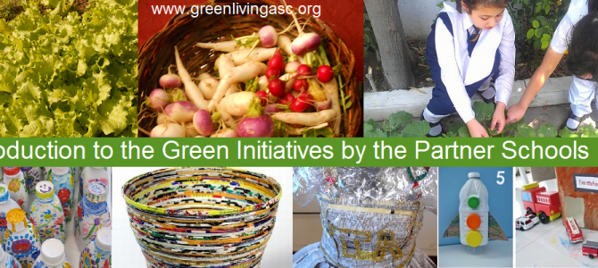 Sharing the Green Initiatives by the Partner Schools