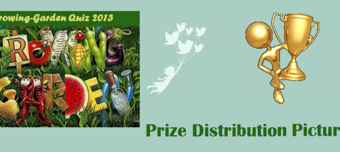 Growing Garden Quiz 2013 – Prize Presentation to National Winners