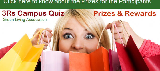 '3Rs Campus Quiz' – Prizes for the Participants