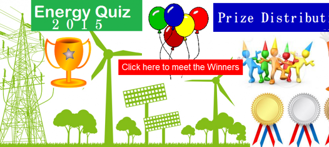 Energy Quiz – Prize Distribution