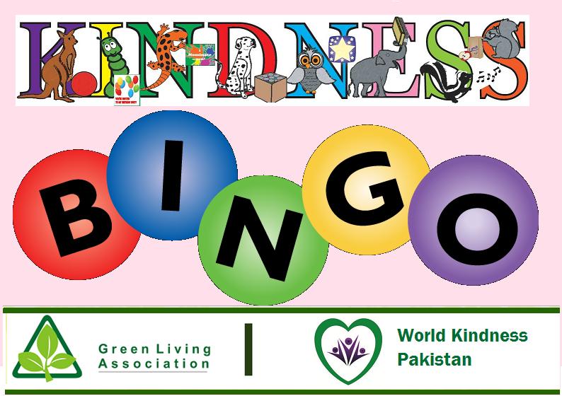 Kindness Bingo Webpage Title