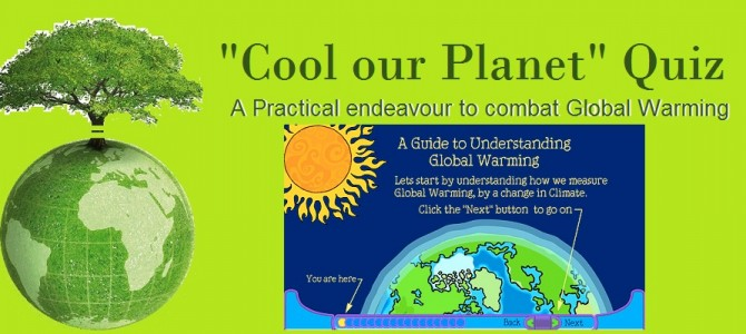 'Cool our Planet' Quiz – Fall 2016
