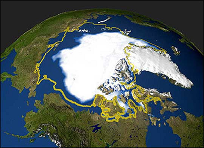 Declining Arctic Ice