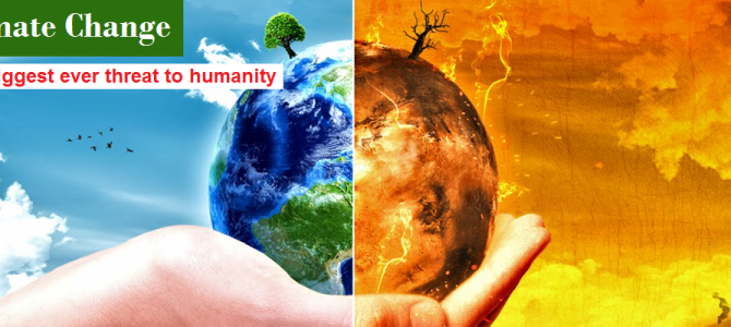 Climate Change – an issue of concern for every human