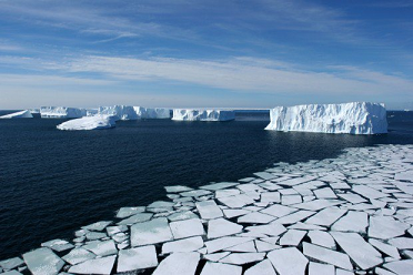shrinking ice sheets