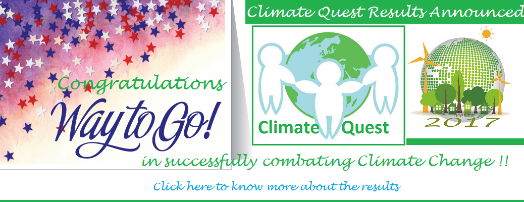 Climate Quest – Results Announcement