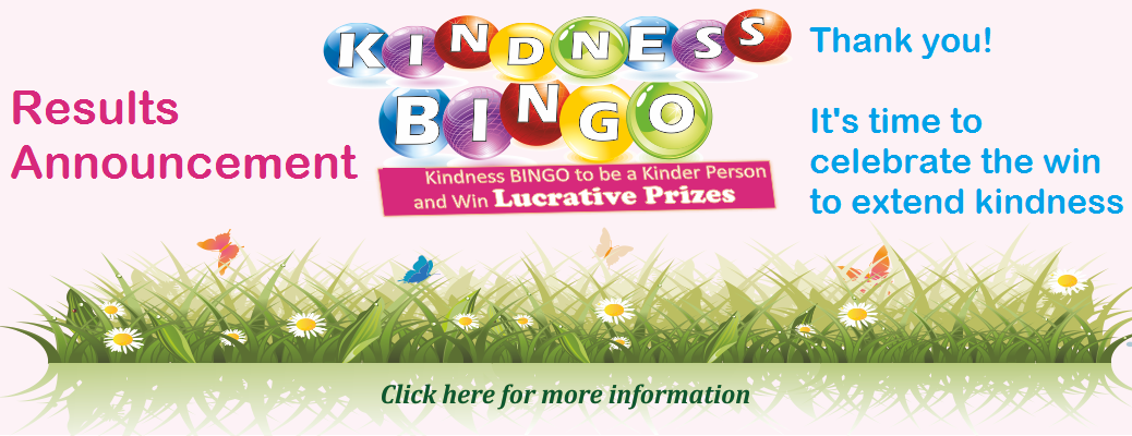 Kindness BINGO – Results Announcement