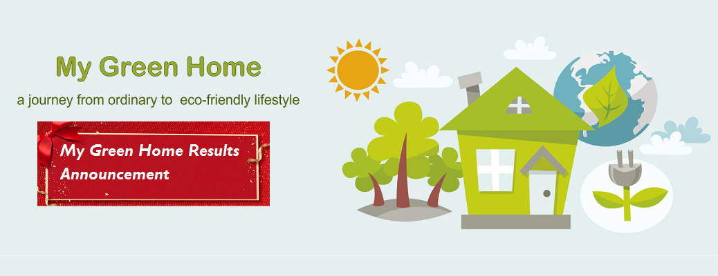 Results Announcement of My Green Home Activity